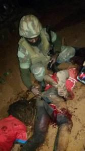 Decapitation de Sam soya par la milice du dictateur biya